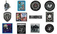Ramones Sew/iron On Patch/Patches NEW OFFICIAL. Choice of 12 designs