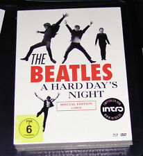 THE BEATLES A HARD DAY´S NIGHT SPECIAL EDITION BLU RAY + DVD NEU & OVP