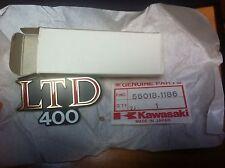GENUINE KAWASAKI  Z400 LTD  KZ400 LTD EMBLEM,SIDE PANEL  56018-1186  NEW