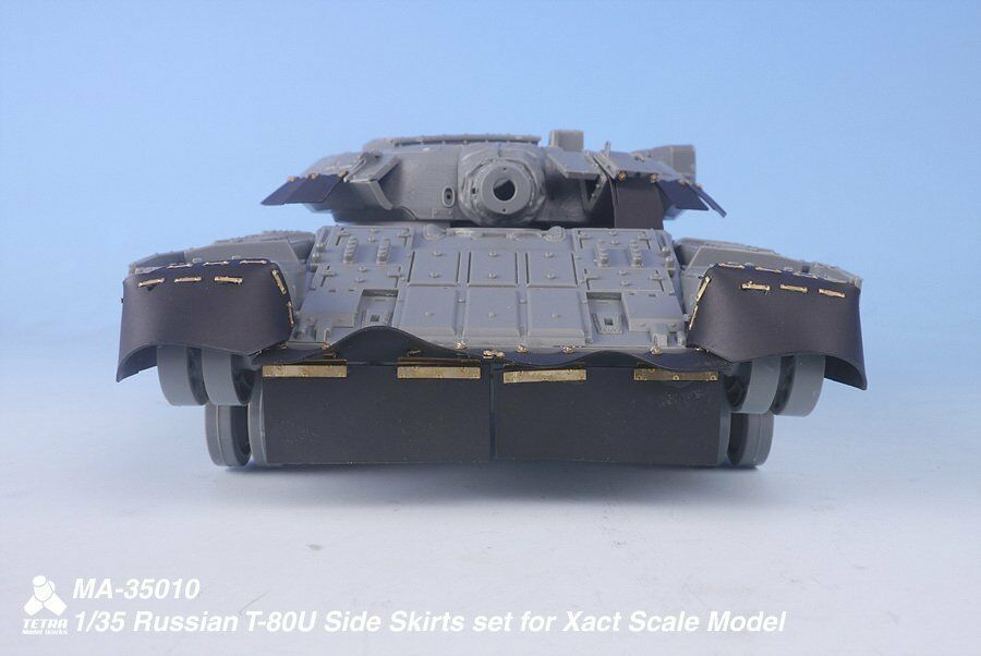 Tetra Model 1 35  MA-35010 Russian T-80U Side Skirts Set for Xact Model