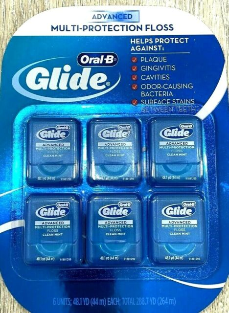 Oral-B  Advanced  Multi-protection Floss 6-pack NEW