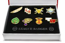 Pokemon Kalos 8 Gym Badge Pin Pip Gen 6  Gift Box