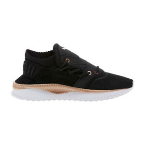 Women s Puma Tsugi Shinsei Lace Black Rose Gold White 366239-01 ... 8bcf21237