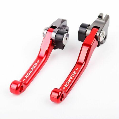 ROARER Pivot Brake Clutch Levers For Suzuki RMZ250 RMZ450 2005-17 RMX250S 93-95