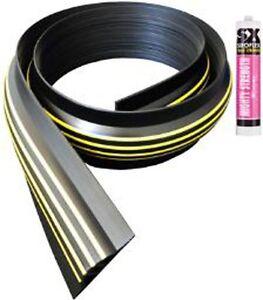 30mm Garage Door Threshold Seal Draught Excluder Kit