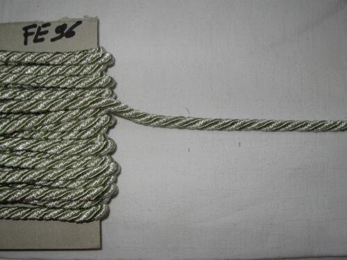 7 mm DE DIAMETRE--N°FE96 10 METRES DE CORDON DE PASSEMENTERIE ANCIENNE-