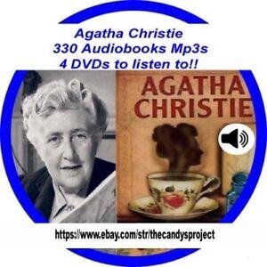 330-MP3-4-DVDs-Agatha-Christie-Audio-books-Then-there-were-none-Fiction-Suspense