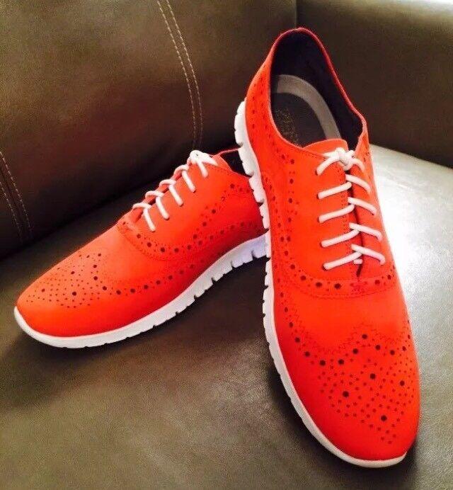 New Cole Haan Women's Zerogrand Wingtip Oxfords Sneakers  Sz 11 M