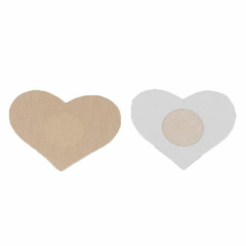 Invisible Nipple Cover 10 Breast HEART Waterproof Protect Under Boob