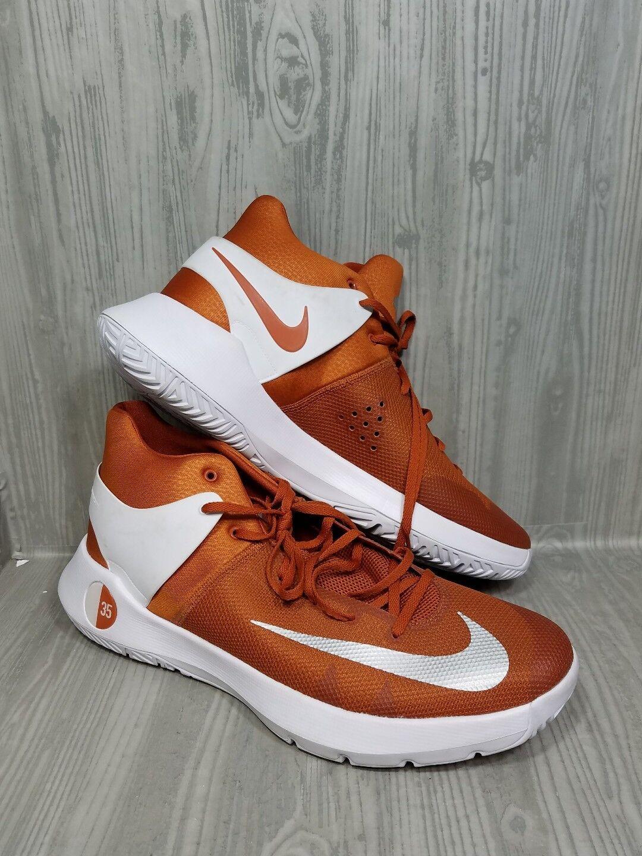 Nike KD Trey 5 Basketball Shoes Orange White Men's Comfortable
