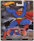 Hot Wheels 2014 Pop Culture VW VOLKSWAGEN T1 PANEL BUS Superman V;S Batman