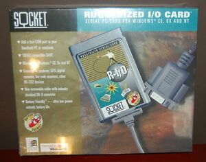 Socket-PCMCIA-Serial-I-O-Port-Adapter-Ruggedized-PC-Card-R-I-O