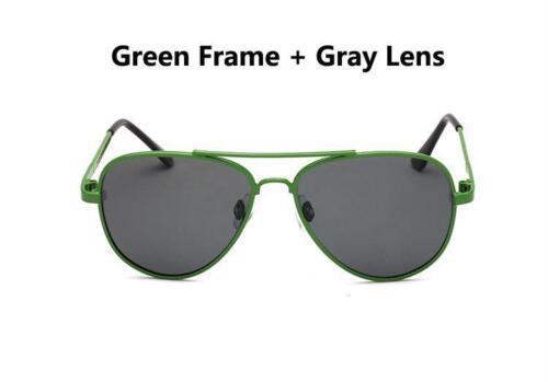 Vintage Sunglasses Metal Frame TAC Lenses Pilot Aviator Polarized Kids Eyewear