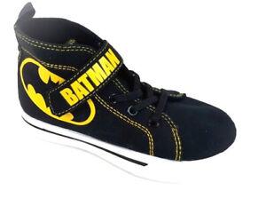 127af71de3e2 DC Comics Batman Hi Top Black Toddler Boy s Sneakers Shoes Size 11 ...