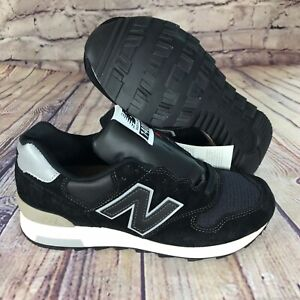 reputable site f1a12 86dfc Details about New Balance 1400 Black Silver Made in USA Mens Size 6 Running  Shoes M1400BKS