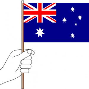 3X5 AUSTRALIAN BOXING KANGAROO FLAG AUSTRALIA NEW F655