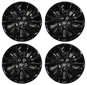 Acura MDX Factory OEM Rim Wheel Gloss Black Full - Acura mdx wheels