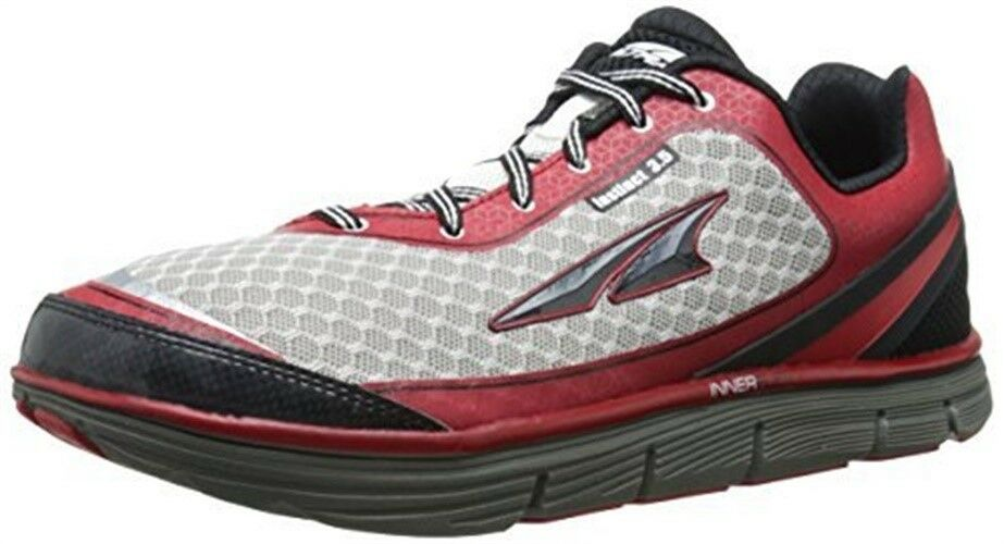 Altra A1633-1-090D Gent's Racing Red & White Neutral Shoe, 9D Size