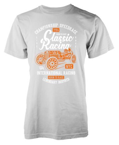 BNWT Classic Racing Championship speedrace International Adult T-Shirt S-XXL