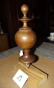 Eiche 19 Die Neueste Mode Drechselei Holz Zierteil Türmchen Antik Nr 1880