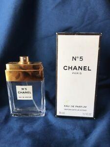 604521eb Details about EMPTY Chanel No.5 Eau de Parfum Spray Bottle refill ~35ml  w/Box