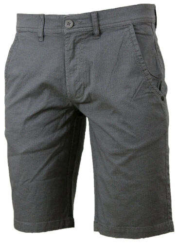 Bermuda Pantaloncini Uomo Microfantasia REKUAIT Shorts Elasticizzato da GELSTORE
