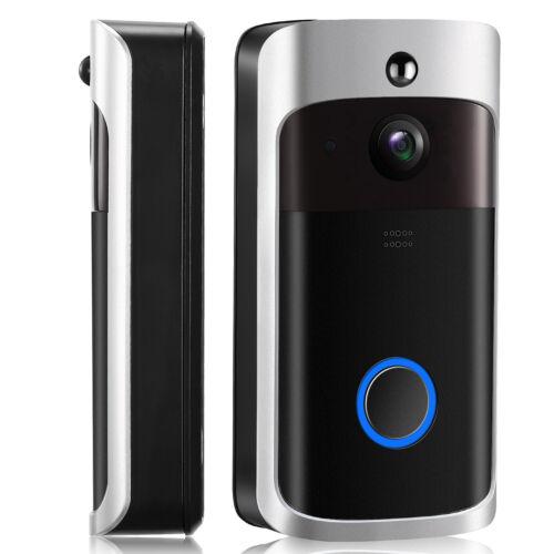 Wireless Smart WiFi DoorBell Video Phone Door Visual Ring Intercom Secure Camera