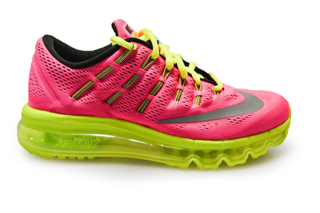Nike Air Max 2016 (GS) para jóvenes - 807237600 - Zapatillas de deporte Hyper Pink
