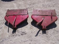 Farmall Ih 460 560 Rowcrop Original Clamshell Fenders Converted To Flat Top