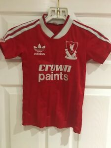 4489da90130 Image is loading Original-1987-88-Liverpool-Home-Crown-Paints-Football-
