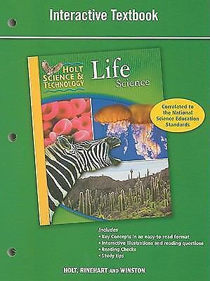 Holt Science & Technology: Interactive Textbook Life ...