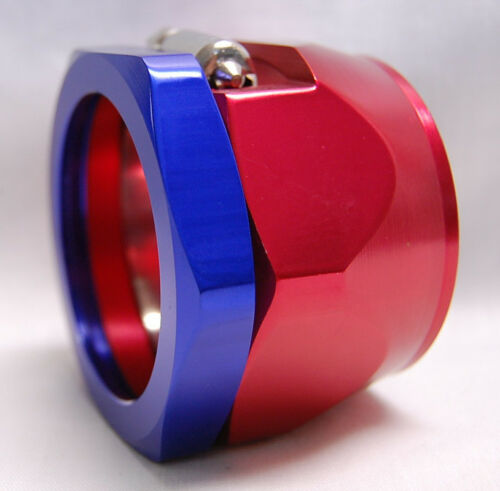 Spectre 6160 Magna Clamp 1-3//4 ID 2.25 OD Radiator Red Blue Hose End AN32