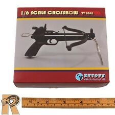 ZY Toys - Crossbow Set w/ 8 Bolts - 1/6 Scale NEW In Box - Action Figures
