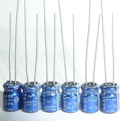 50pcs 47uF 16V Japan ELNA RE3 5x11mm 16V47uF Audio Capacitor