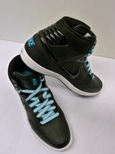 Para mujer Nike Doble Equipo Lt entrenadores de cuero negro Color Size UK 4/EU 37.5 Nuevo