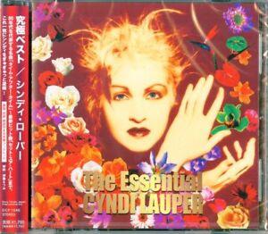 CYNDI-LAUPER-THE-ESSENNTIAL-CYNDI-LAUPER-JAPAN-CD-D24