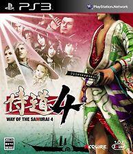 (Used) PS3 Samurai Dou 4 Way of the Samurai 4 [Import Japan]((Free Shipping))、
