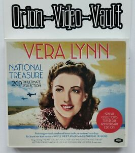 Vera-Lynn-National-Treasure-2-Cd-The-Ultimate-Collection-Brand-New-And-Sealed