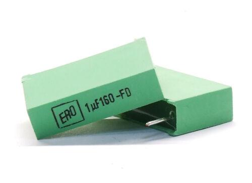 Roederstein ERO MKT1822 2.2uF 2.2µF 100V Film Capacitor Folien-Kondensator 22mm