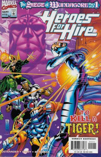 1998 Power Man Iron Fist Black Knight Ant-Man She-Hulk Heroes for Hire No.15