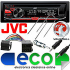 Vauxhall Astra G 1999-04 JVC CD MP3 USB AUX Car Stereo Red Display Upgrade Kit