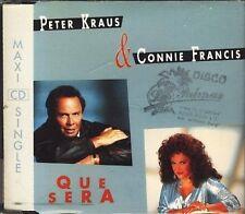Peter Kraus Que sera (1992, & Connie Francis) [Maxi-CD]