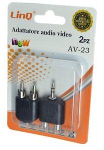 Set 2 Adattori Audio Video Linq Av-23 - Italia - Restituzione accettata con spese di restituzione a carico dell'acquirente - Italia