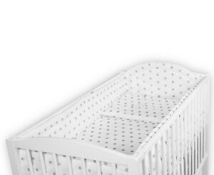 LUXURY-BABY-BEDDING-SET-SMALL-GREY-STARS-ON-WHITE-TO-FIT-COT-120x60