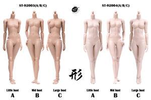 POPTOYS 92003 92004 1/6 Female Body 12'' Flexible Action Figure Doll Toy