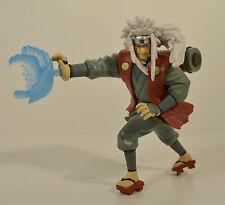 """2002 Jiraiya Rasengan Attack 5.5"""" Action Figure Naruto Shippuden Shonen Jump"""