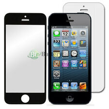 Black LCD Screen Glass Lens Replacement+Film Shield Guard for Apple iPhone 5C 5S