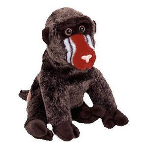 TY Beanie Baby - CHEEKS the Baboon (6 inch) - MWMT s Stuffed Animal ... 3129b3c1616c