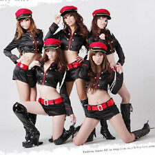 Hot&Sexy Women's Lingerie Police Sailor Stewardess Uniform Cosplay Fancy Dresses