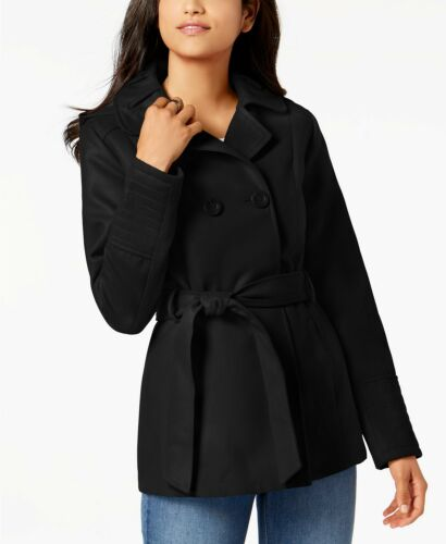 Breasted L Peacoat Pink Double Juniorer Macy's 120 Nwot Black Celebrity wqEx10Rt